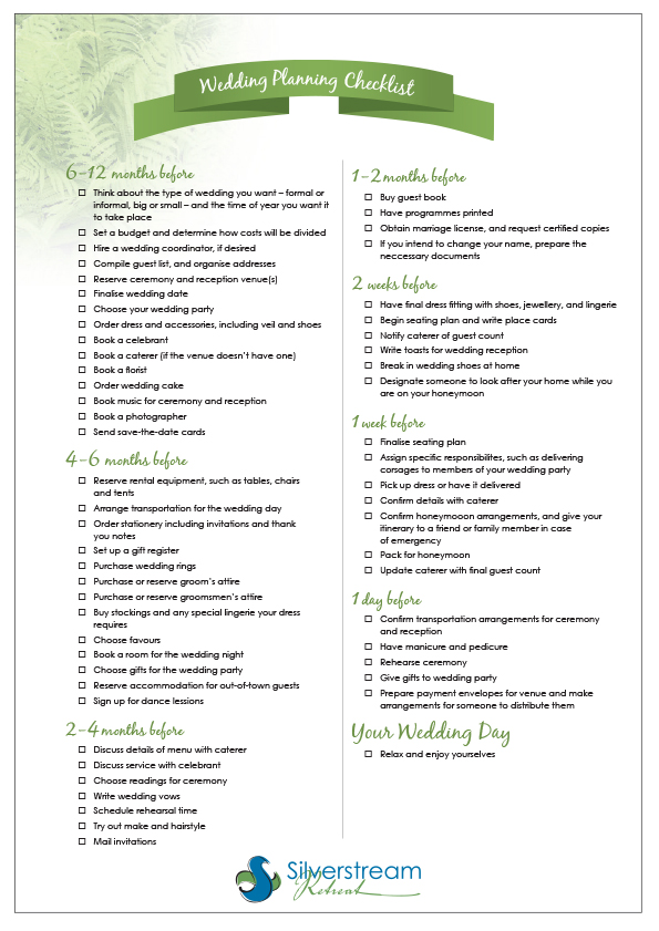 Wedding Coordinator Checklist Template  BesikEightyCo